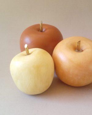 juego manzanas terracota